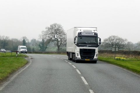 Should Heavy Goods Vehicles Have Chevrons?